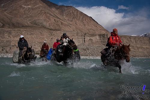 Les sites d'observation étaient à plusieurs heures de cheval