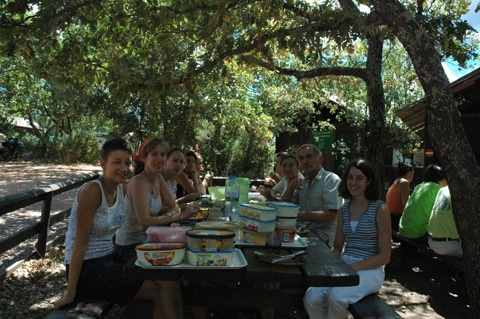 Tour du monde d'une éco-volontaire : le village des tortues à Gonfaron (3/7)