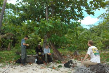 Expédition dans la mangrove. Station des iguanes au Honduras