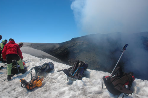 villarrica volcan chili