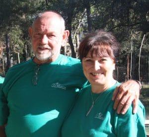 Michele Merrifield et son mari