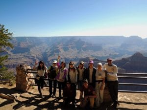 Volontaire grand canyon