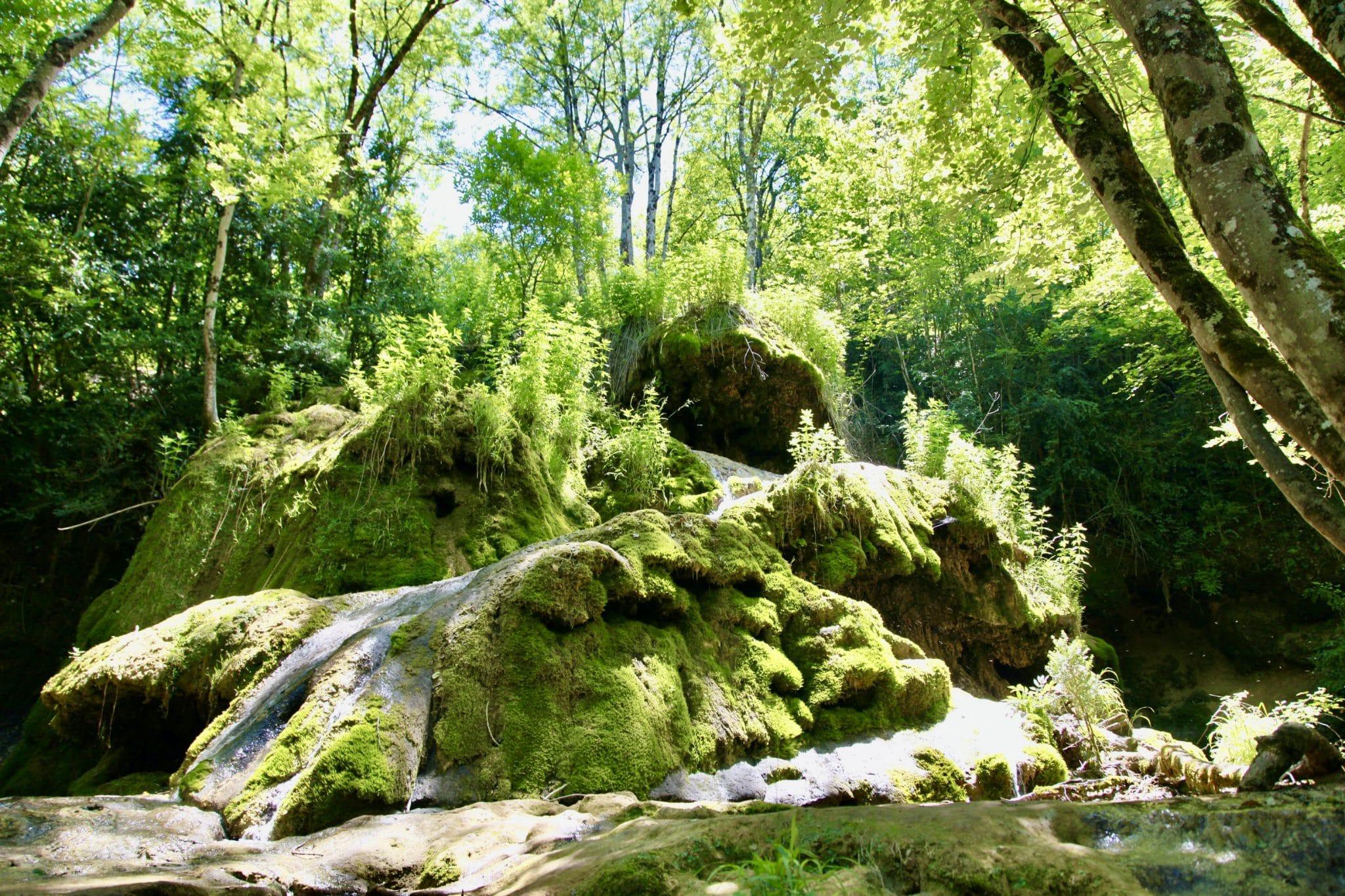 Cascade de Roquefort